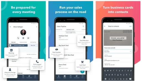 hubspot sales app