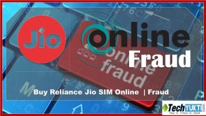 Buy Reliance Jio SIM Online  | Fraud