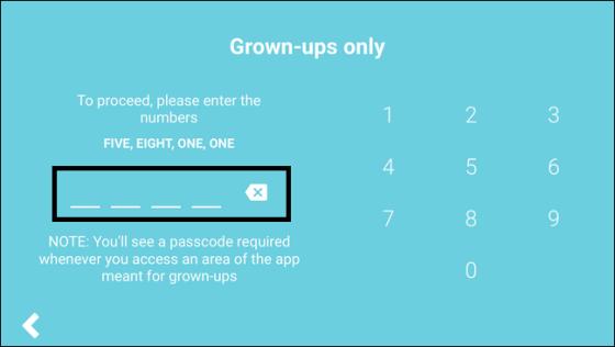 Set Parental password