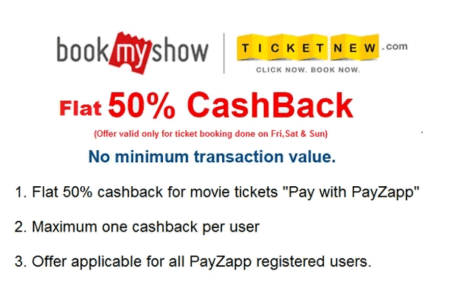 BookMyShow Discount