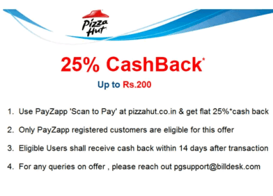 Pizza Hut Discount