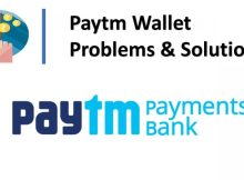 Paytm wallet Problems and Solutions