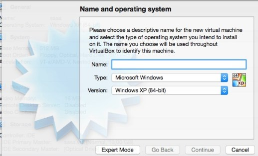 Virtual Box VM Step 2