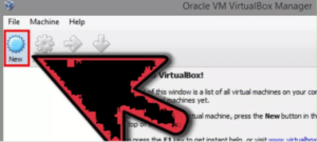 virtual Box VM Step 1
