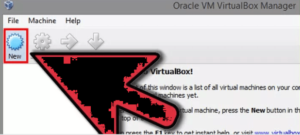 virtual Box VM Step 1