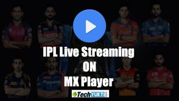 IPL 2017 Live Stream On MX Player | आईपीएल को mx प्लेयर को कैसे देखे