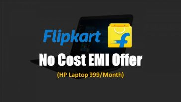 Flipkart 999 Laptop Offer (No Cost EMI)  | EMI पर HP लैपटॉप ख़रीदे Without Interest