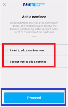 select a nominee