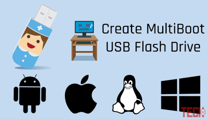 Create MultiBoot USB Flash Drive