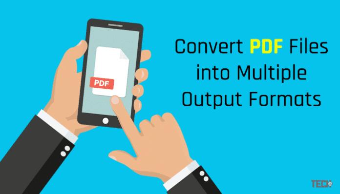 Convert Multiple PDF Files