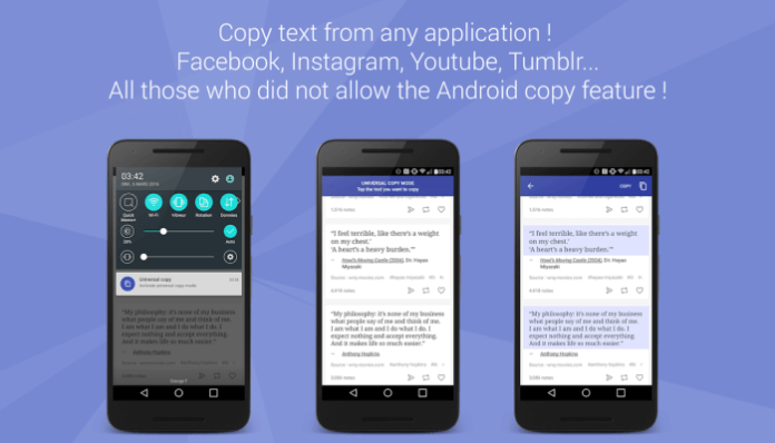Copy Unselectable Text from any Android App