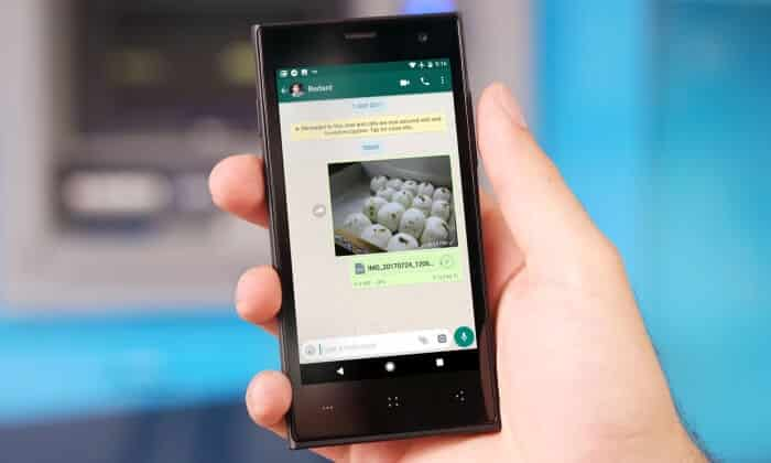 How to Send Original Size Picture on WhatsApp