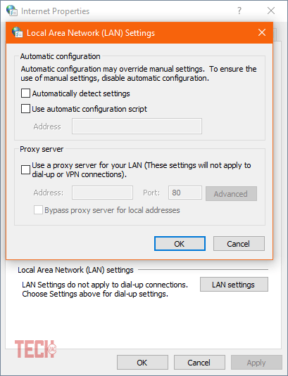 Fix Google Chrome Downloading Proxy Script Error