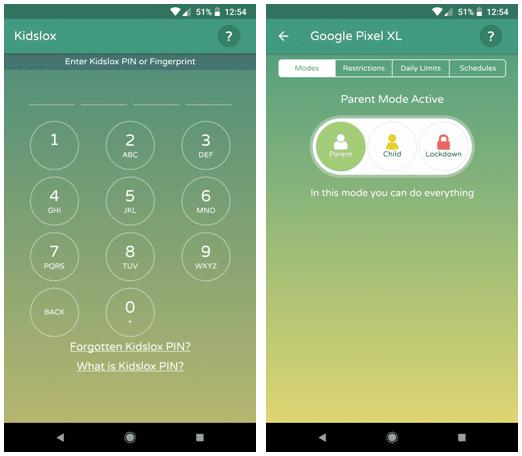 Kidslox Parental Control App