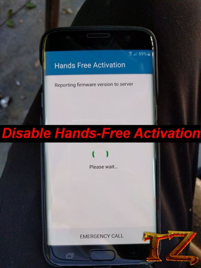 disable hands-free activation on Galaxy phones