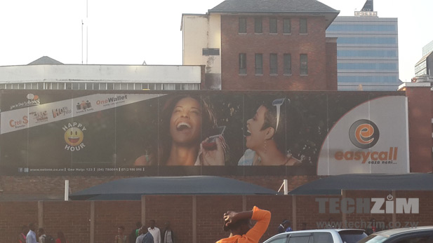 NetOne ZW Harare Billboard
