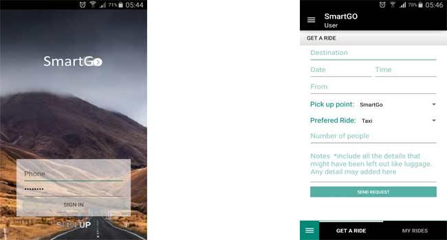 SmartGo-App-Screenshots