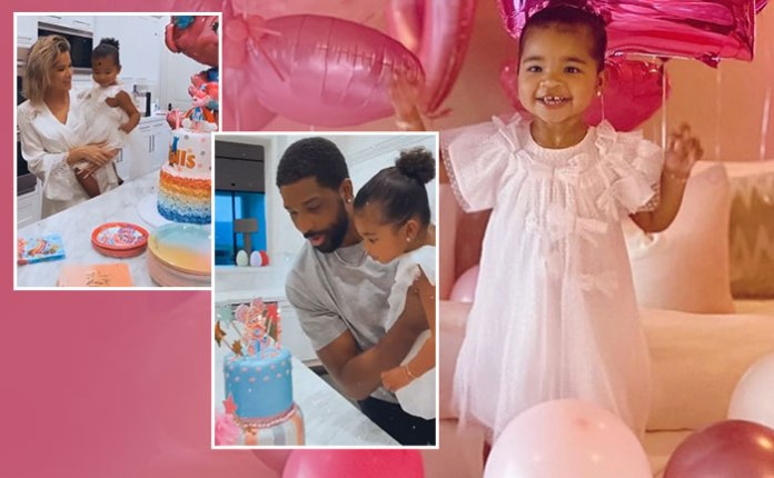 Khloe Kardashian And Tristan Thompson Celebrate Their Daughter's ...