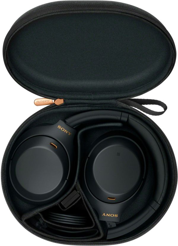 Sony WH-1000XM4 Wireless Noise Cancelling Over-Ear Headphones (Black)   Teck Galaxy