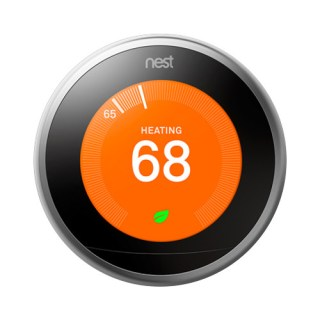 Google Nest Learning Smart Wi-Fi Thermostat - Stainless Steel | Teck Galaxy