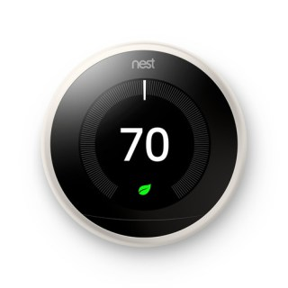 Google Nest Learning Smart Wi-Fi Thermostat - White | Teck Galaxy