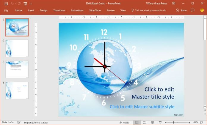 0016-flowing-time-powerpoint-template