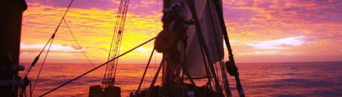 zons ondergang op Tecla