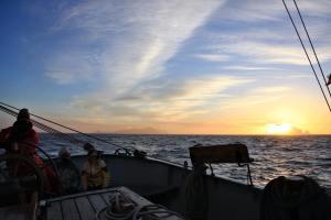 Adventure while sailing the tecla