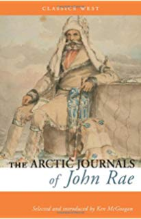 The Arctic Journals of John Rae Book Cover