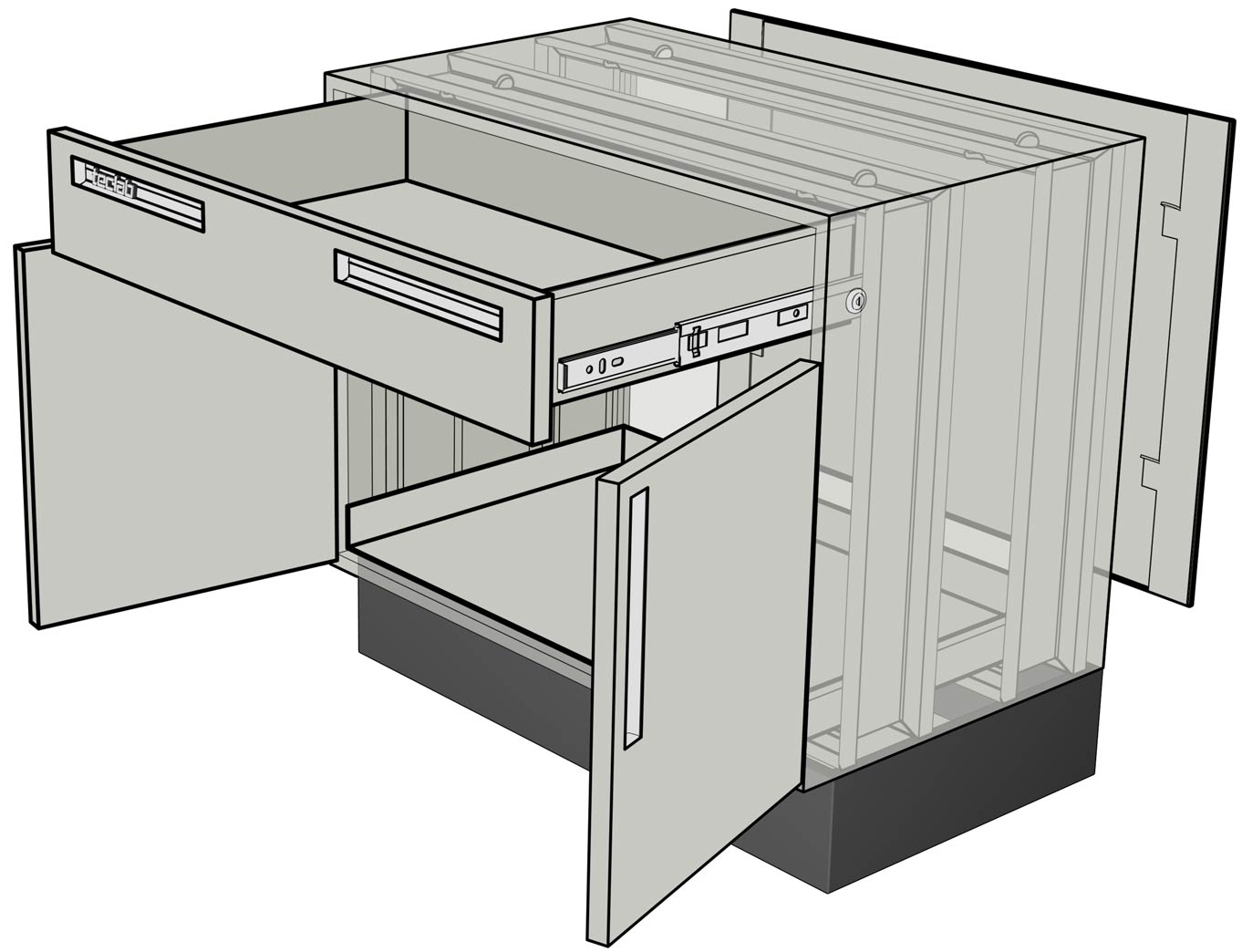 Teclab Base Cabinet Construction Details
