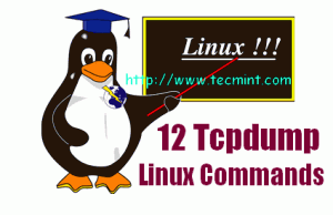 Linux tcpdump command examples