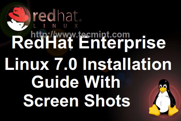 RHEL 7 Installation Guide