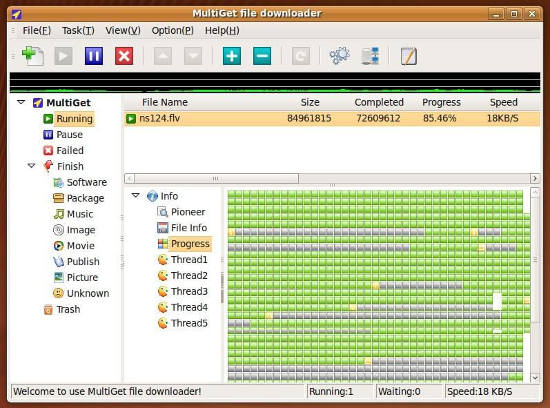 Multiget File Download Manager