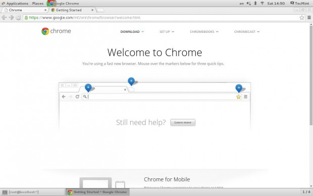 Download App Store: Install Chrome Redhat 7