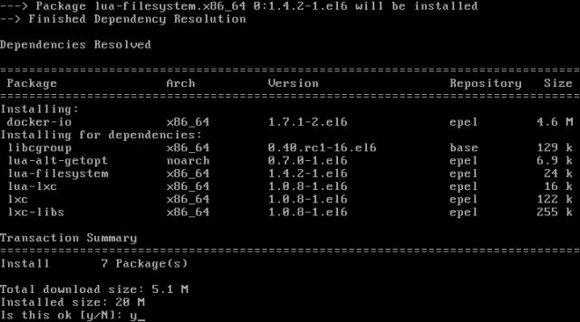 Install Docker on RHEL and CentOS 6