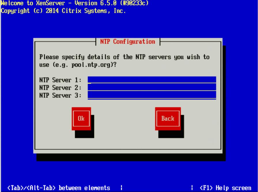 Konfigurasikan NTP untuk XenServer 7