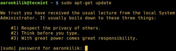 Lecture Sudo Users