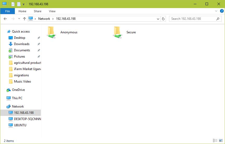 Samba Secure Share