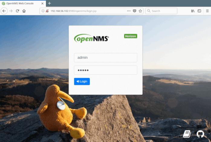 OpenNMS Web Console Login