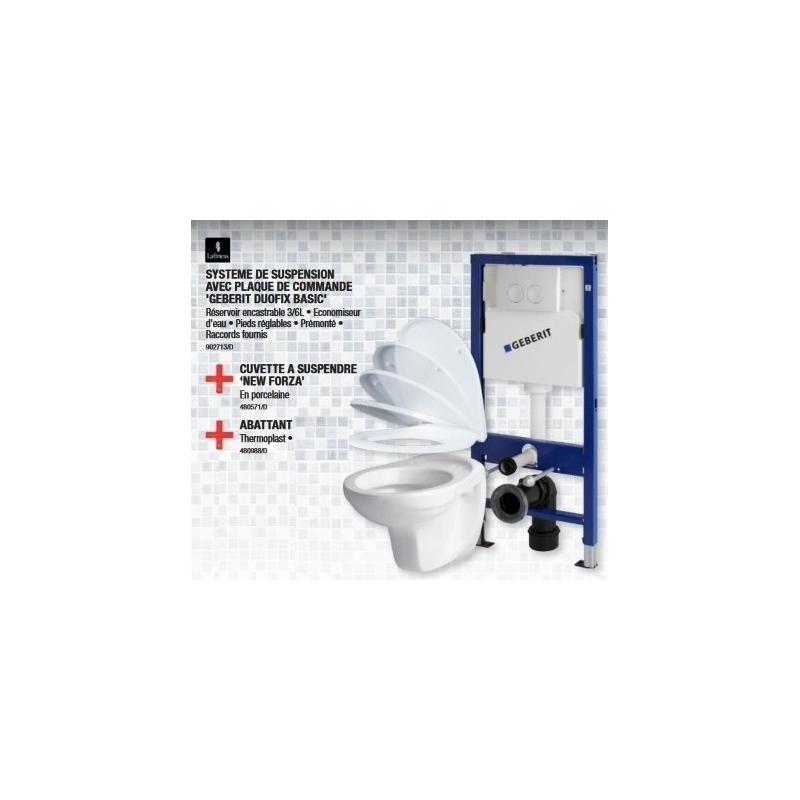 pack wc suspendu geberit duofix basic chantier