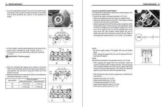 Manuale officina Suzuki GSX-R 750 (2006-2007) (EN
