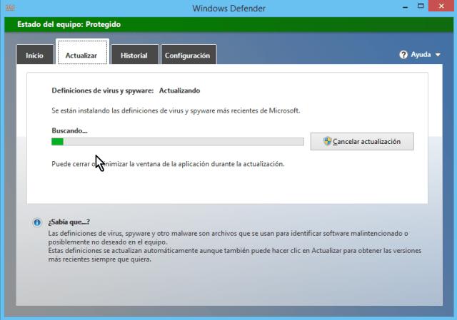 Cómo usar el antivirus de Windows - Buscando y descargando archivos de antivirus
