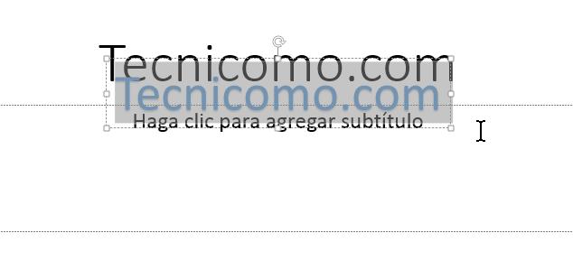 Ejemplo de WordArt aplicado al texto en en cómo insertar WordArt en Microsoft PowerPoint