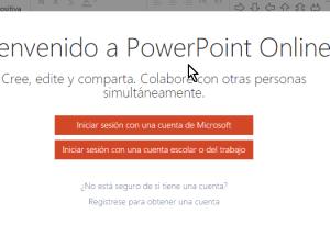 Cómo usar Microsoft PowerPoint Online