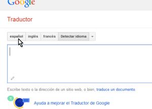 Cómo usar el traductor de Google en español