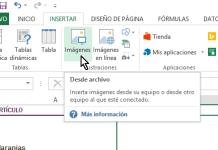 Botón para insertat imágenes guardadas en la computadora en cómo insertar imágenes en Excel