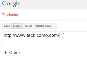 Cómo traducir páginas web con el traductor de Google