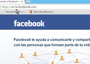 Cómo abrir Facebook en Español