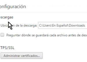 Cómo configurar Chrome para preguntarme antes de descargar un archivo