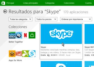 Cómo descargar e instalar Skype en Windows 8